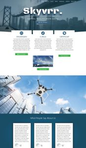 Skyvvrr website studio globe